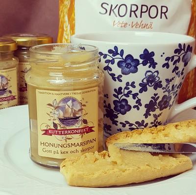Honungsmarsipan - Kutterkonfekt