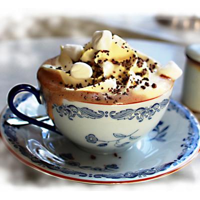 Varm choklad - 70% Mörk - Vegan