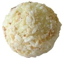 Chokladpralin - Pinacolada - Vit tryffel
