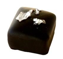 Chokladpralin - Lakrits tryffel - Mörk