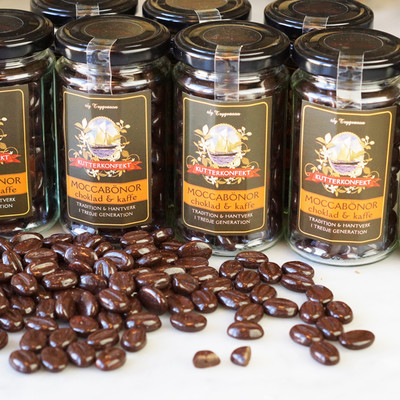 Choklad - Moccaböna i burk