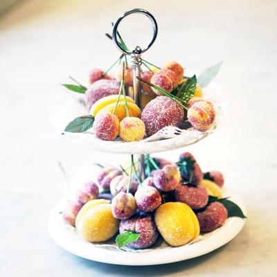 Marsipanfrukter i påse - Vegan