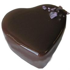 Chokladpralin - Citron/violtryffel